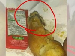 Passenger Served Bugged Pakodas From Sampark Kranti Pantry