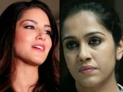 Sunny Leone At Kochi Abusive Comments Against Renjini Haridas