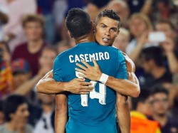 Real Madrid Beat Barcelona Spanish Super Cup First Leg