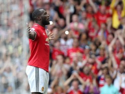 Romelu Lukaku Scoring Twice On His Premier League Debut For Manchester United