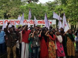 Sfi Wins Maharajas College Union Election