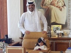 Sick Little Girl Asks About The Emir Ends Up Meeting Him