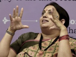Smriti Irani Forwards Online Petition Against Tv Show To Bccc