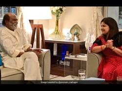 A Bjp Leader Meets Rajinikanth Party Says Courtesy Call
