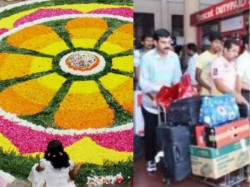 Better Travel Facilities For Malayalis Out Side Kerala During Onam Season