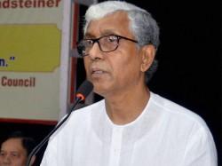 Tripura Cm Manik Sarkar Gets Death Threat On Facebook