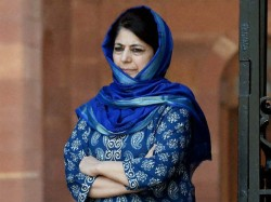 Mehbooba Mufti Likely To Meet Pm Modi Congress Chief On Article 35 A Issue