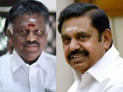 Bjp Tamil Nadu Aiadmk Merger Eps Ops Factions