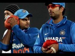 Yuvraj Singh Suresh Raina Indian Team