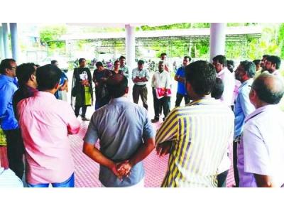 താലൂക്ക് വനിതാ തഹസില്ദാര്ക്കുനേരേ സി.പി.ഐ. സംഘത്തിന്റെ ഭീഷണി